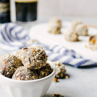 Beer Truffles with Crushed Pretzels Recipe
