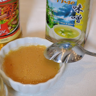 Sweet Miso Ginger Dressing and Marinade
