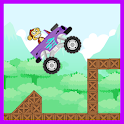 Monster Jungle Truck Rush Flow icon