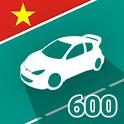 XEYEU - Thi Giấy Phép Lái Xe GPLX Bằng Lái 600 câu icon