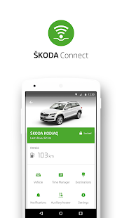 ŠKODA Connect- screenshot thumbnail