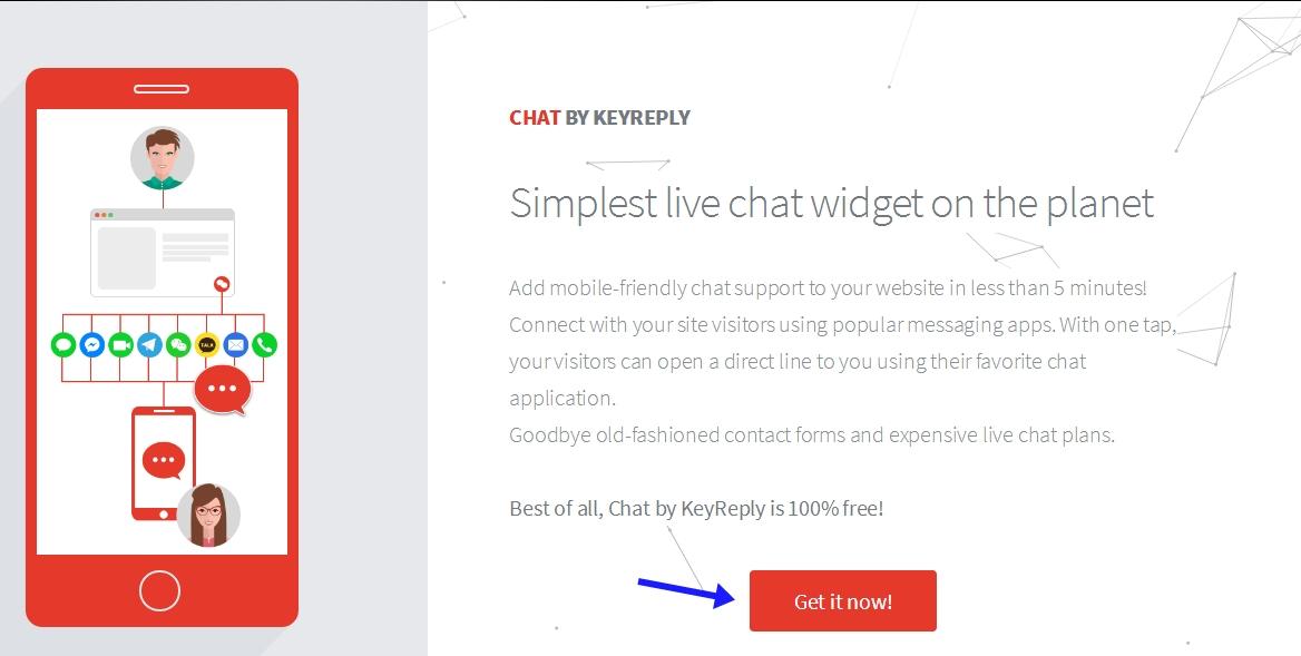 Membuat live chat di blog