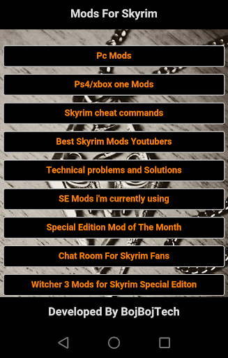 Mods for skyrim Guide  screenshots 1