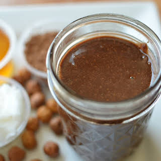 Hazelnutty Cocoa Spread {Homemade Nutella}.