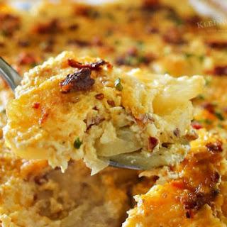Scalloped Potatoes Cheese Bacon Recipes