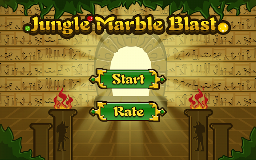 Jungle Marble Blast screenshot 1
