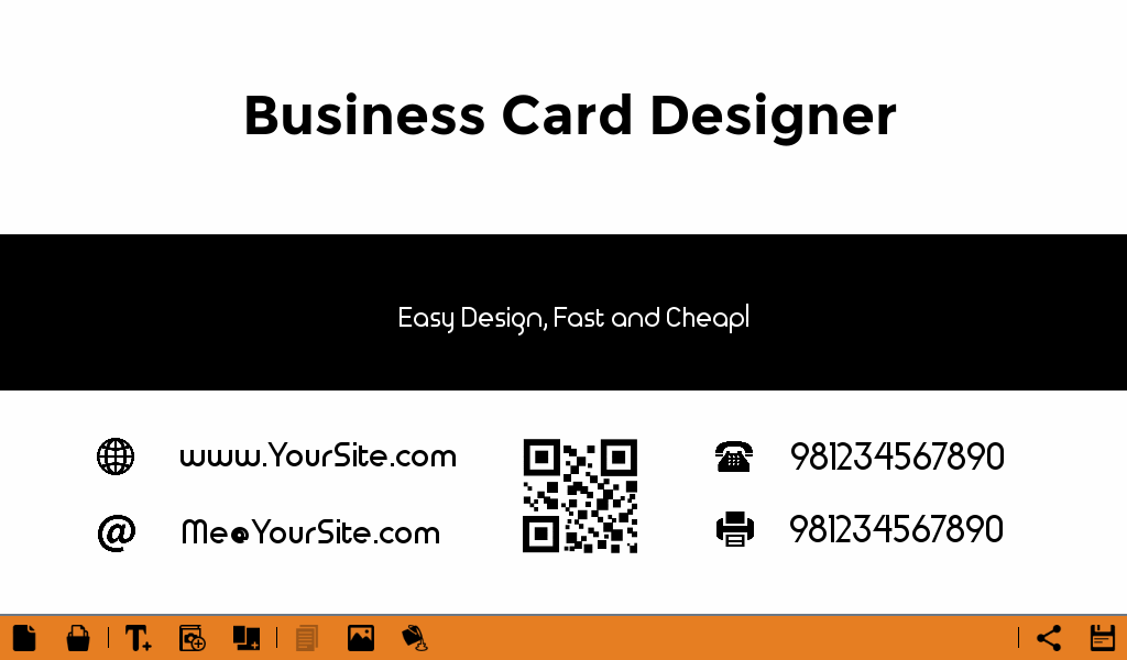 Business Card Maker Free 2017 - Android Apps on Google Play