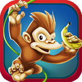 Running Monkey - Banana Island