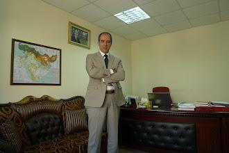 Photo: Dr Dilan Majid Rostam Vice President for Scientific Affairs at the University of Koye, Koye 2014
