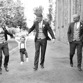Its also Page Boys Day :)  by Kaspars Sarovarcenko - Wedding Groom ( wedding photography, wedding photographer ireland, wedding photographer limerick, award winning irish wedding photographer )