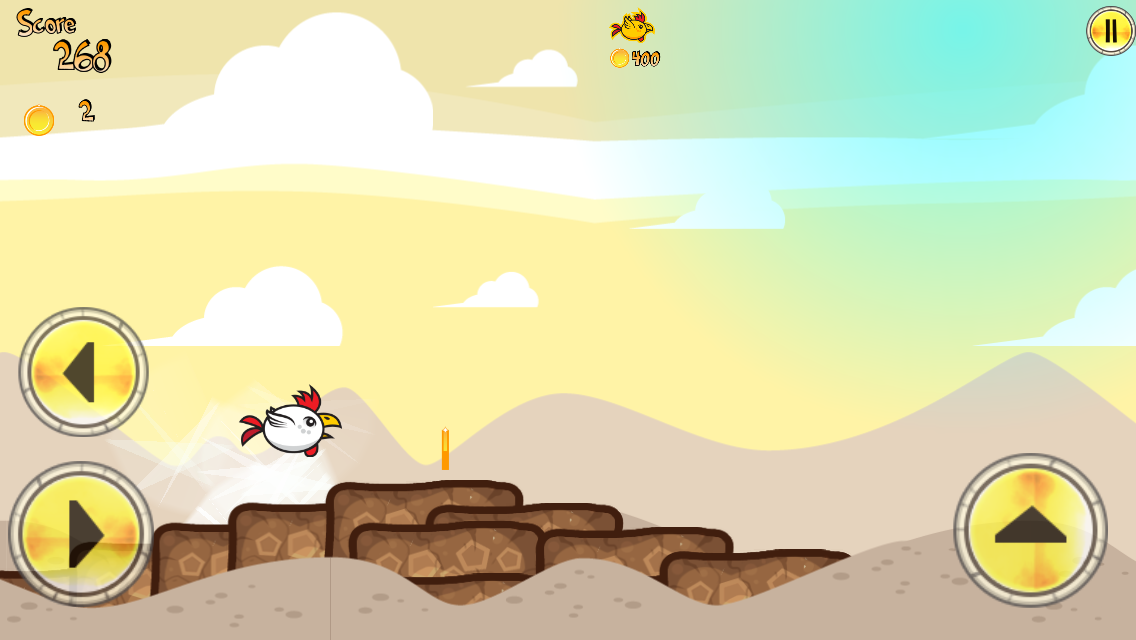 Chicken Desert Wind- screenshot