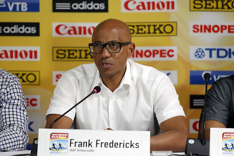 Frankie Fredericks. Picture: STREETER LECKA/GETTY IMAGES FOR IAAF