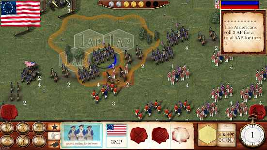 Hold the Line: The American Revolution- screenshot thumbnail