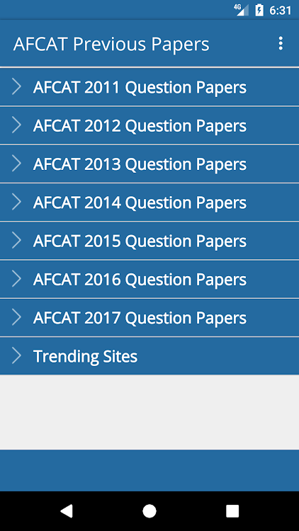 AFCAT Previous Papers free – (Android Apps) — AppAgg
