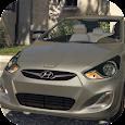 Car Parking Hyundai Accent Simulator apk