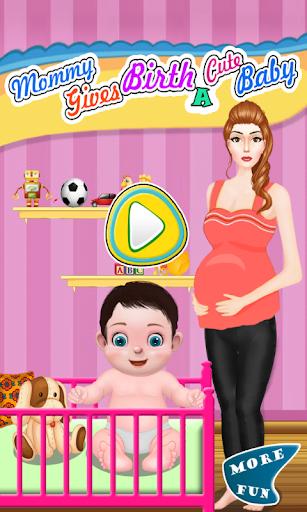 女の子のためのママの誕生ゲーム