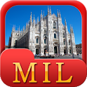 Milan Offline Map Travel Guide icon