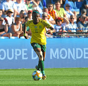 Thembi Kgatlana has taken women's football by storm through her sterling performances  for  South Africa.   / Sydney Mahlangu/ BackpagePix
