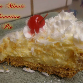 TWO MINUTE HAWAIIAN PIE