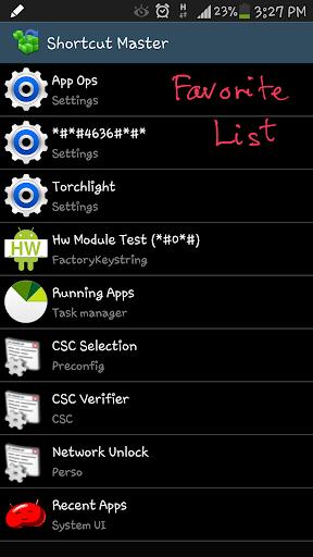 Shortcut Master (Lite) 1.2.4 screenshots 1