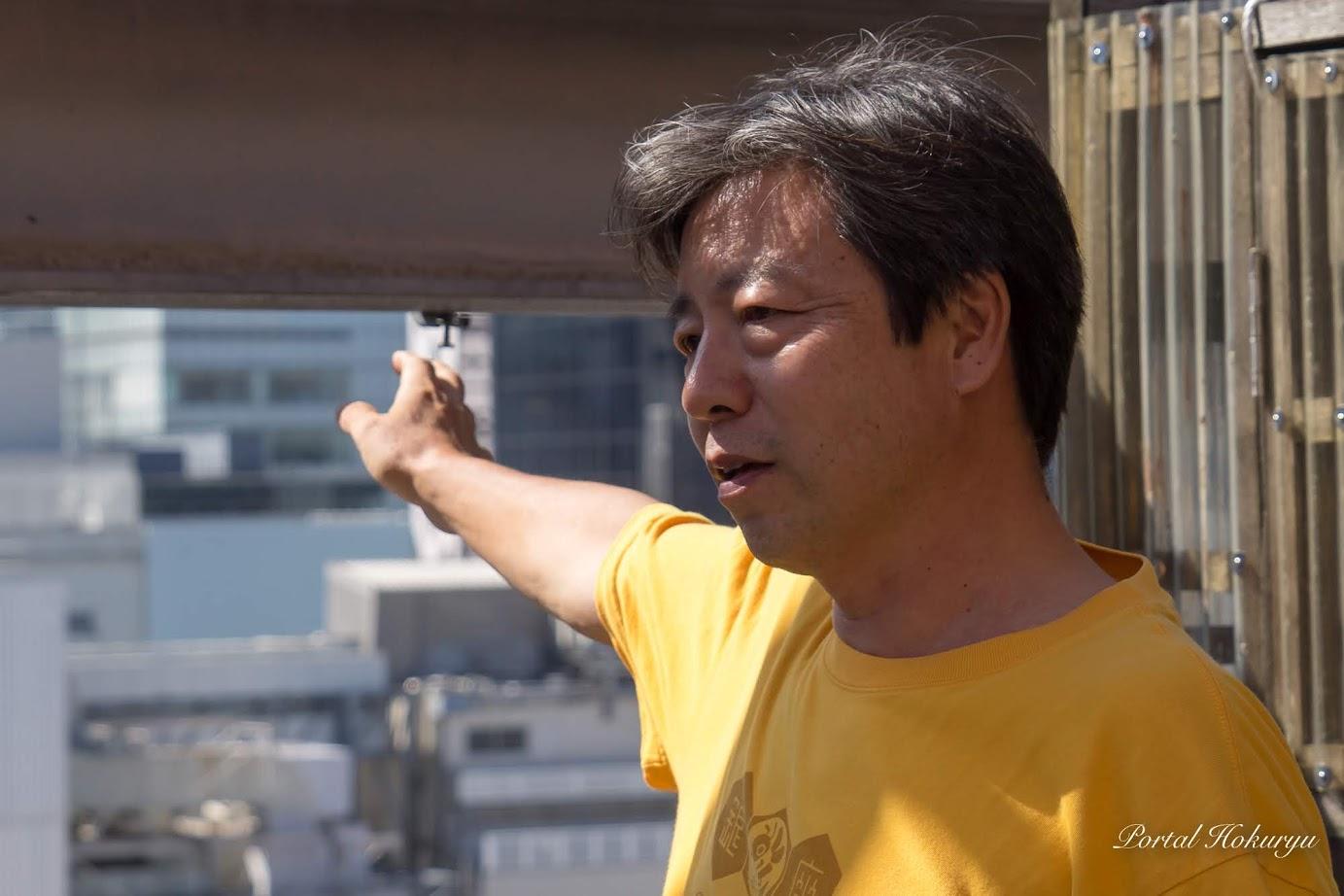 NPO法人 銀座ミツバチプロジェクト・田中淳夫 理事長