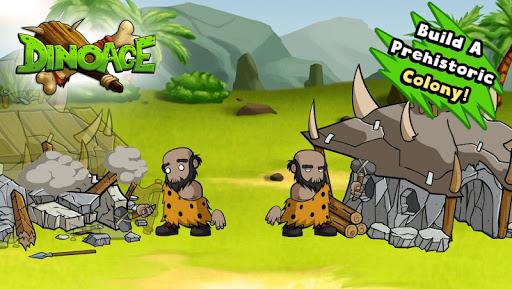DinoAge: Stratégie de cro-magnons et dinosaures ! APK MOD – Pièces de Monnaie Illimitées (Astuce) screenshots hack proof 2