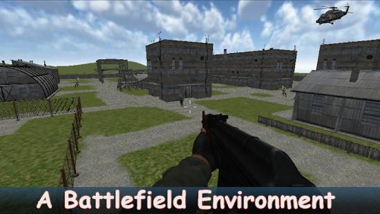 Sniper Attack Building Military Strike - náhled
