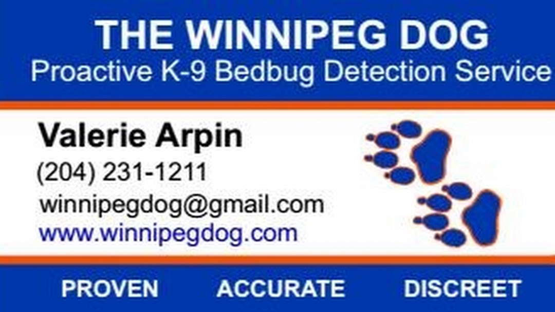 The Winnipeg Dog Proactive Canine Bed Bug Detection Service