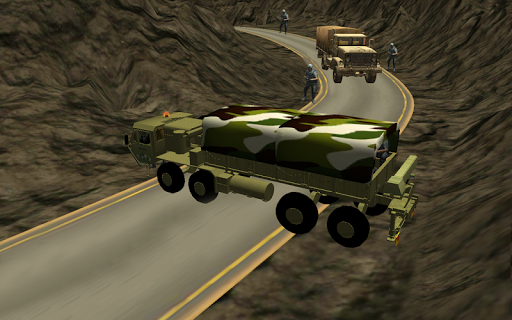 Army Truck Mountain Drive 3D