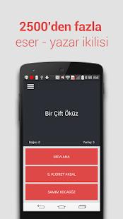 LYS Edebiyat Yazar & Eser Quiz - náhled