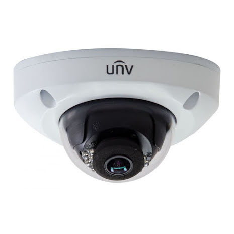 UNV - 4MP - 3.6mm - IR 15m - Mini dome - Outdoor