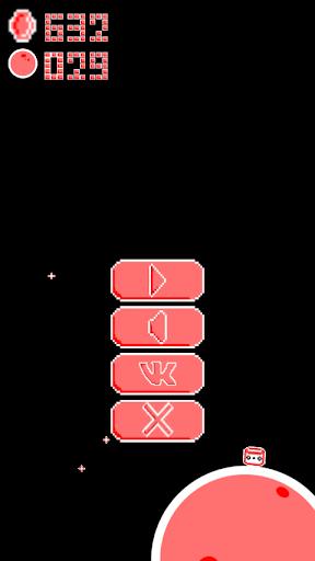 Télécharger gratuit Marshmallow: space travel -pixel retro platformer APK MOD 2