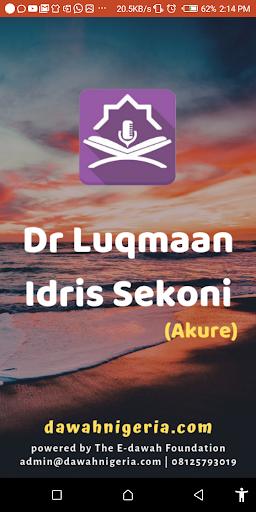 Dr Luqmaan Idris Sekoni dawahBox screenshot 1