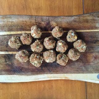 Greek Turkey Meatballs With Lemon And Feta