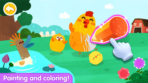Baby Panda's Paint Colors screenshots apkshin 15