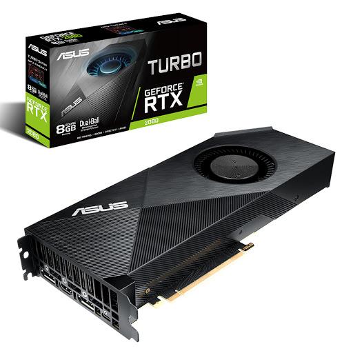 Card màn hình Asus Turbo GeForce RTX 2080 8GB GDDR6 (TURBO-RTX2080-8G)