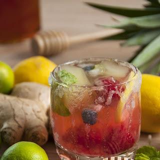 Lemon Lime Fruit Infused Detox Water - Weight Loss Secret.