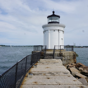 light house by Harold Stoler - Buildings & Architecture Other Exteriors ( lighthouse, scenic, landscapes )