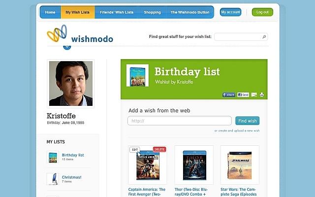 Add to Wishlist button - WishModo