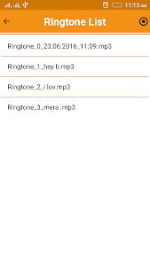 Name & Audio Ringtone Maker screenshot 6