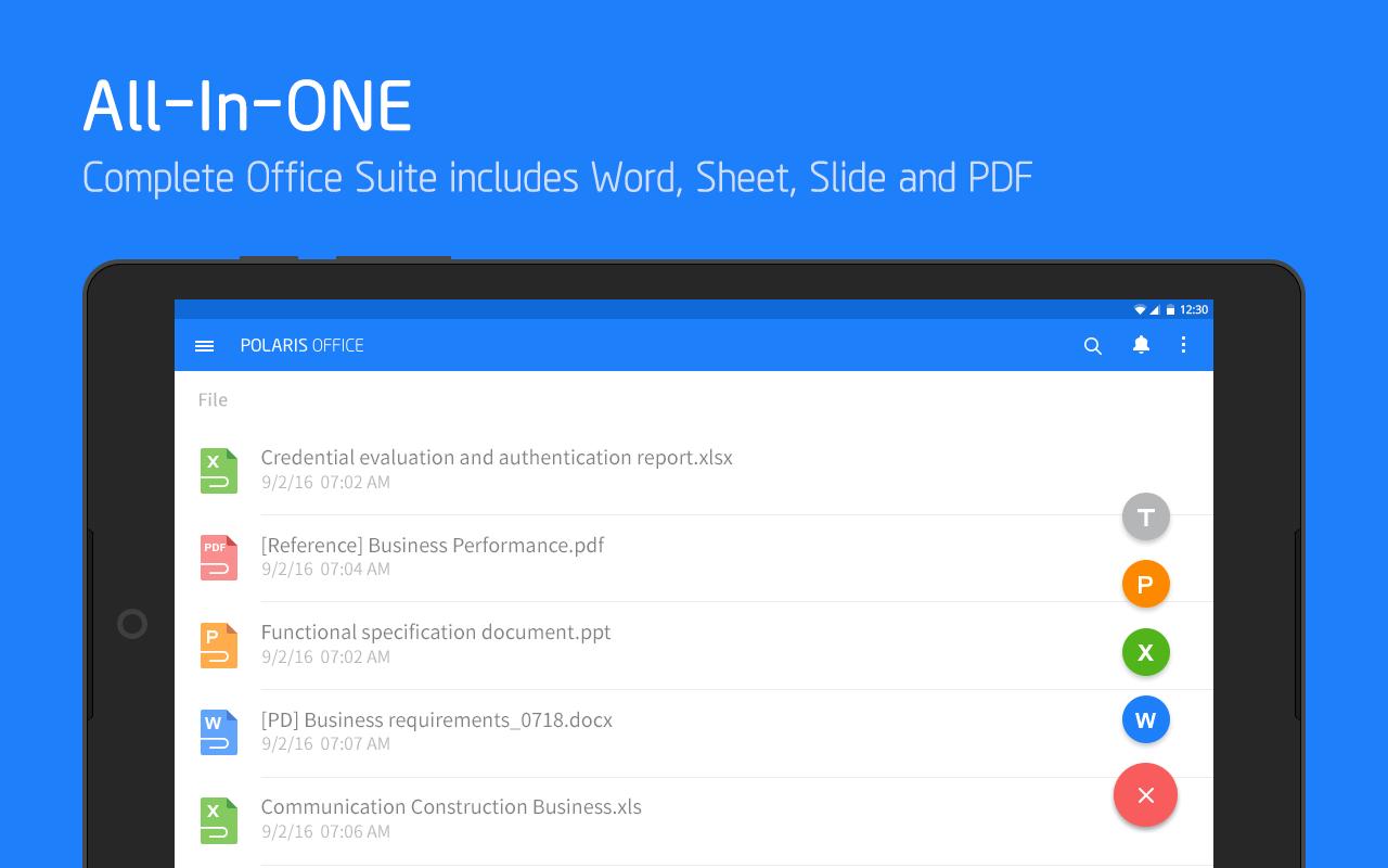 Polaris Office + PDF screenshot #9