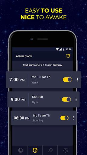 Alarm Clock with Ringtones for free screenshot