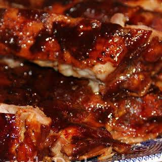 Fall Off the Bone Oven Ribs.
