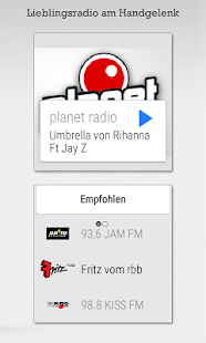Radioplayer - Gratis Radio App Screenshot
