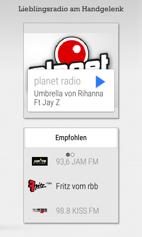 Radioplayer - Gratis Radio App- screenshot