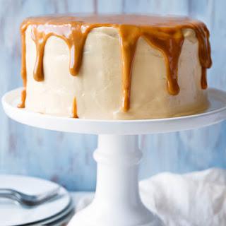 Dulce de Leche Banana Layer Cake