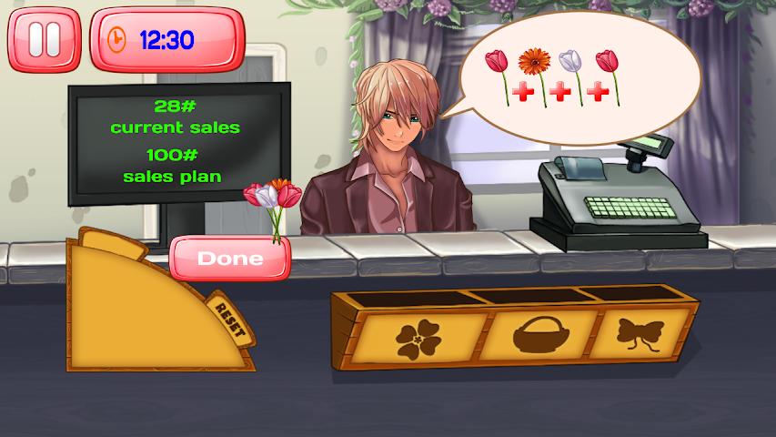 android Florist Shop Story Screenshot 1