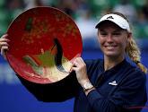Wozniacki klopt Sevastova in finale Peking