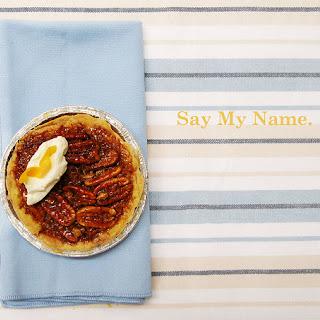 Tartine's Pecan Maple Pie