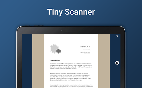 Tiny Scanner - PDF Scanner App for PC / Windows 7, 8, 10 / MAC Free
